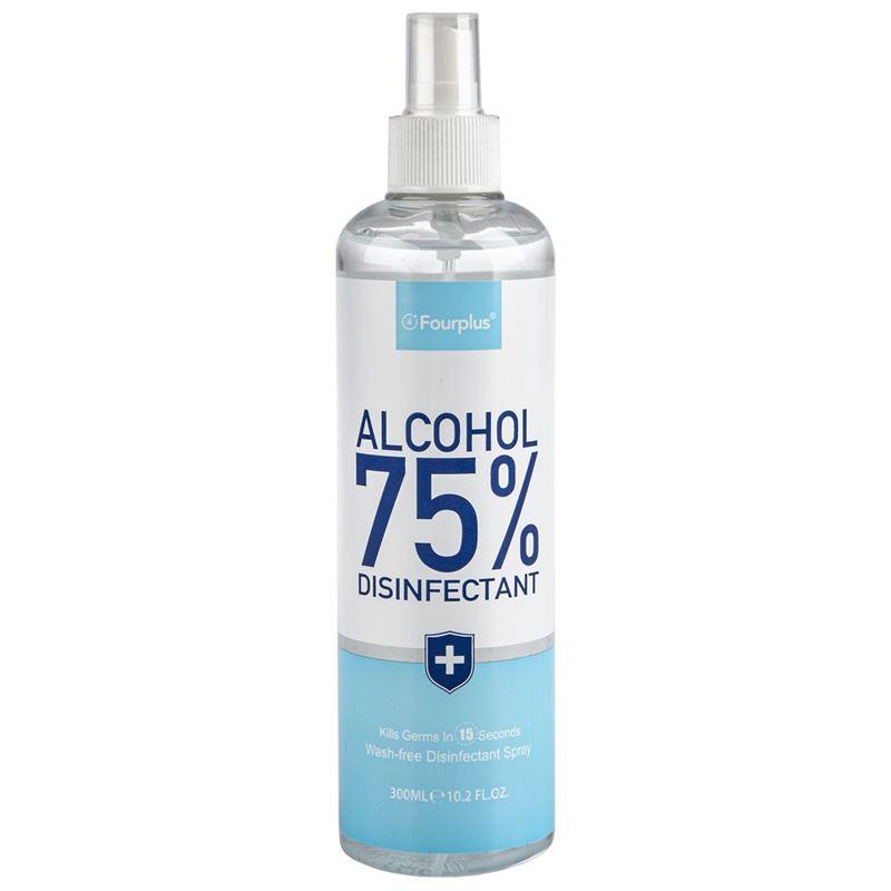 Fourplus – 300ml Bottle 75% Alcohol Disinfectant Spray