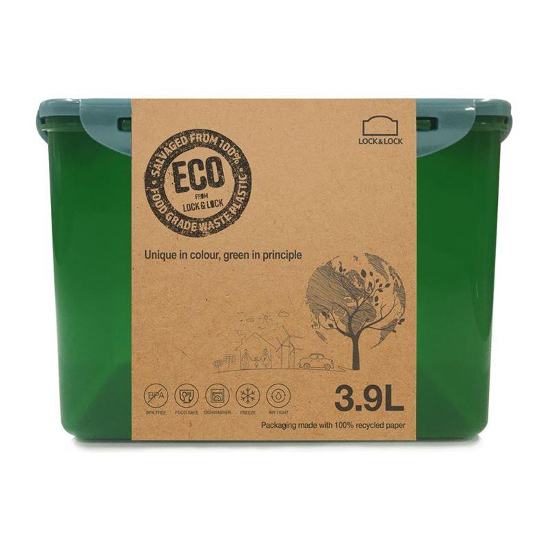 Lock & Lock – Eco Range Rectangular Short Container 3.9Ltr