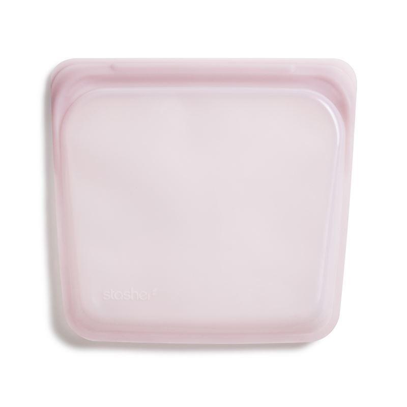 Stasher – Sandwich Bag 450ml Rose Quartz