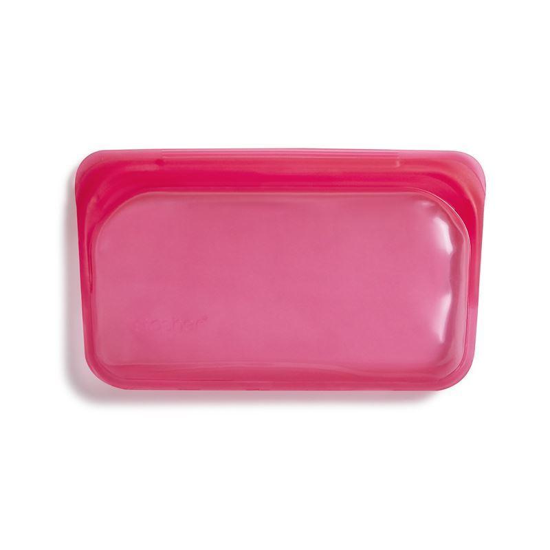 Stasher – Snack Bag 293ml Raspberry