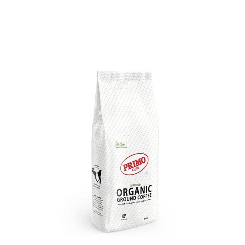 Primo – Certified Organic Coffee Ground 250g