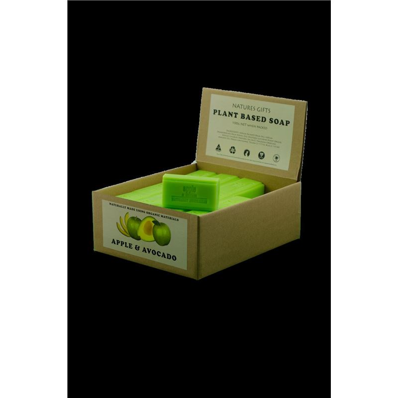 Natures Gift – Plant Based Fine Soap Apple Avocado (Made in Australia)