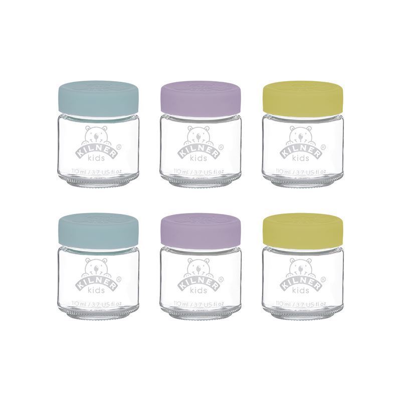 Kilner – 110ml Kids Jar Set of 6