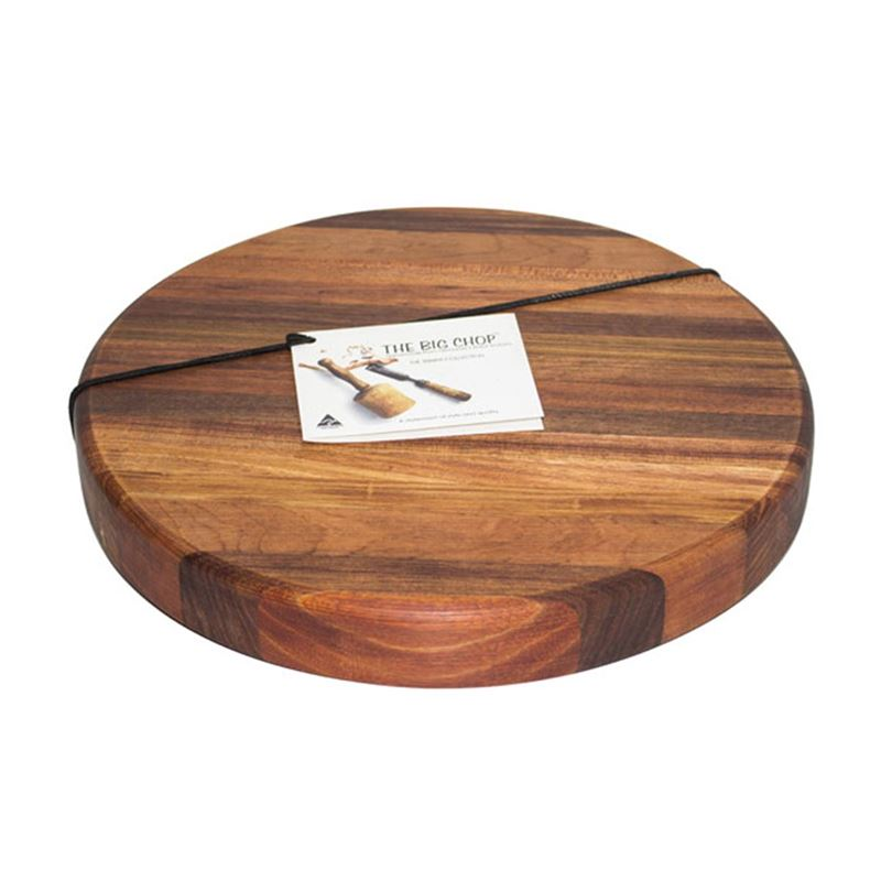 Big Chop – Tamar River Collection Round Chopping Board 32.5x4cm (Made in Australia)