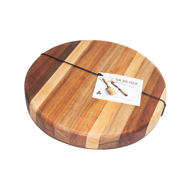 Big Chop – Derwent River Collection Round Chopping Board 32.5x4cm (Made in Australia)