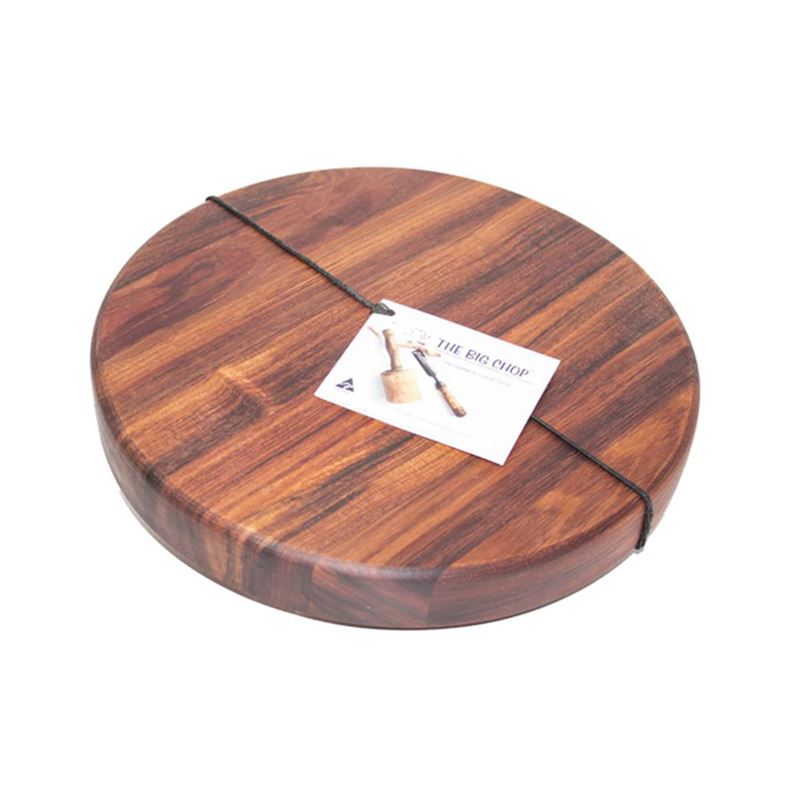Big Chop – Franklin River Collection Round Chopping Board 32.5x4cm (Made in Australia)