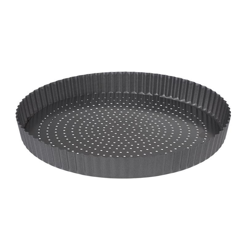 Masterpro – CrispyBake Non-Stick Loose Base Round Flan/Quiche 29cm