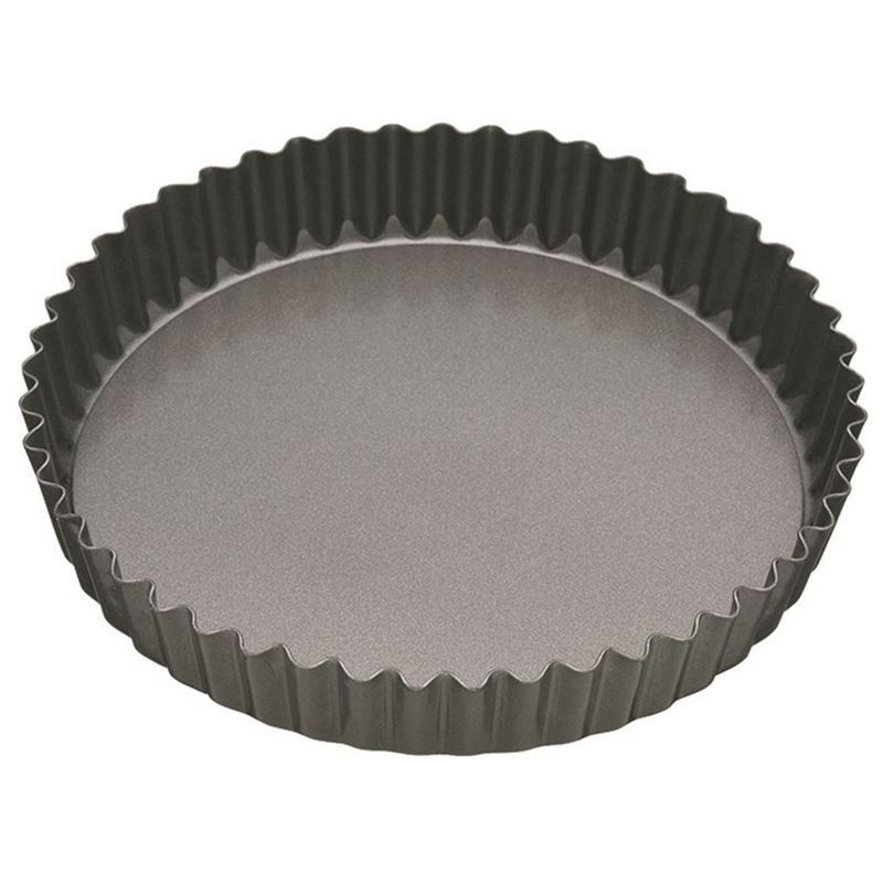 Masterpro – Professional Non-Stick Loose Base Round Flan/Quiche Tin 18cm
