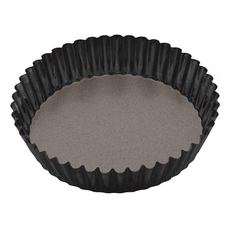 Masterpro – Professional Non-Stick Loose Base Round Deep Flan/Quiche Tin 25cm