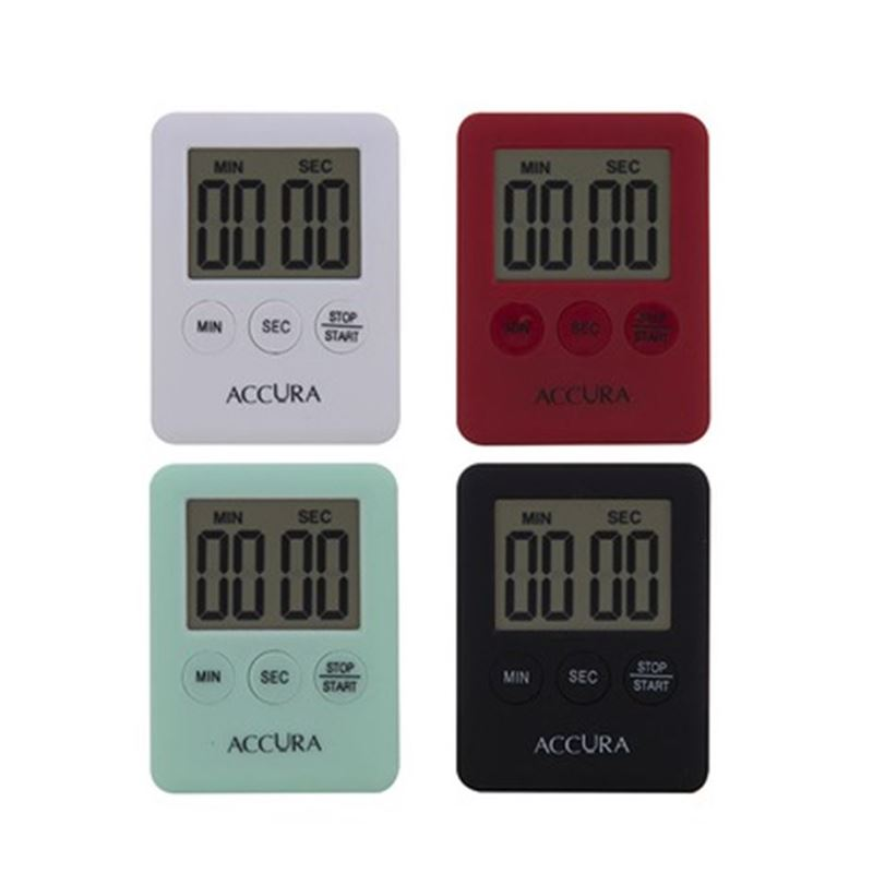 Accura – Compact 99 Minuted Digital Timer Asst.