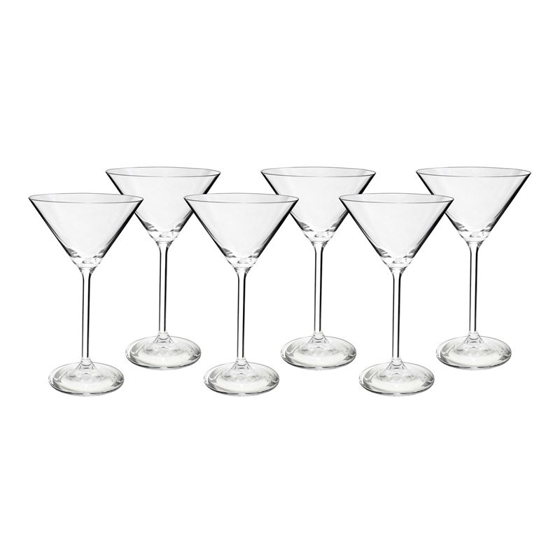 Bohemia – Maxima Cocktail Martini 210ml Set of 6 (Made in the Czech Republic)
