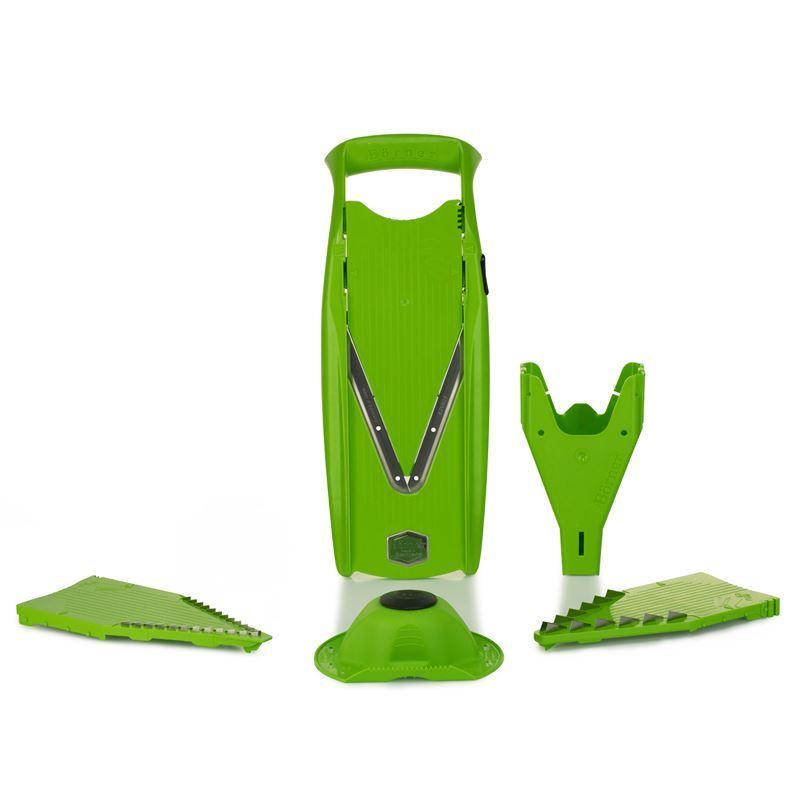 Borner – V5 PowerLine 5pc V Slicer Set Green (Made in Germany)