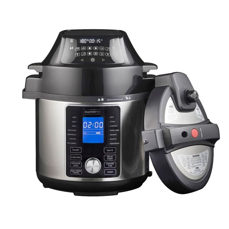 Masterpro – Electrical Ultimate All-in-One Multi Cooker and Air Fryer 5Ltr