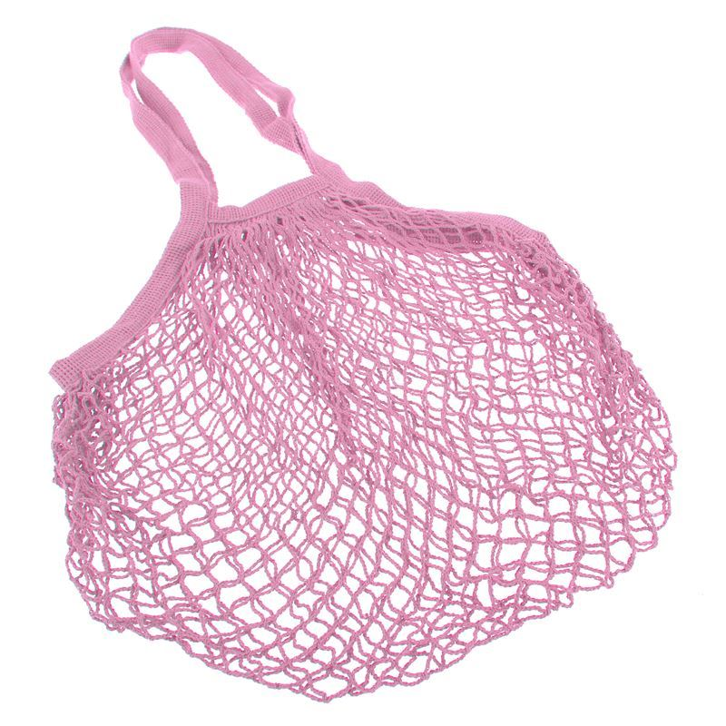 Appetito – String Bag with Long Handle Powder Pink