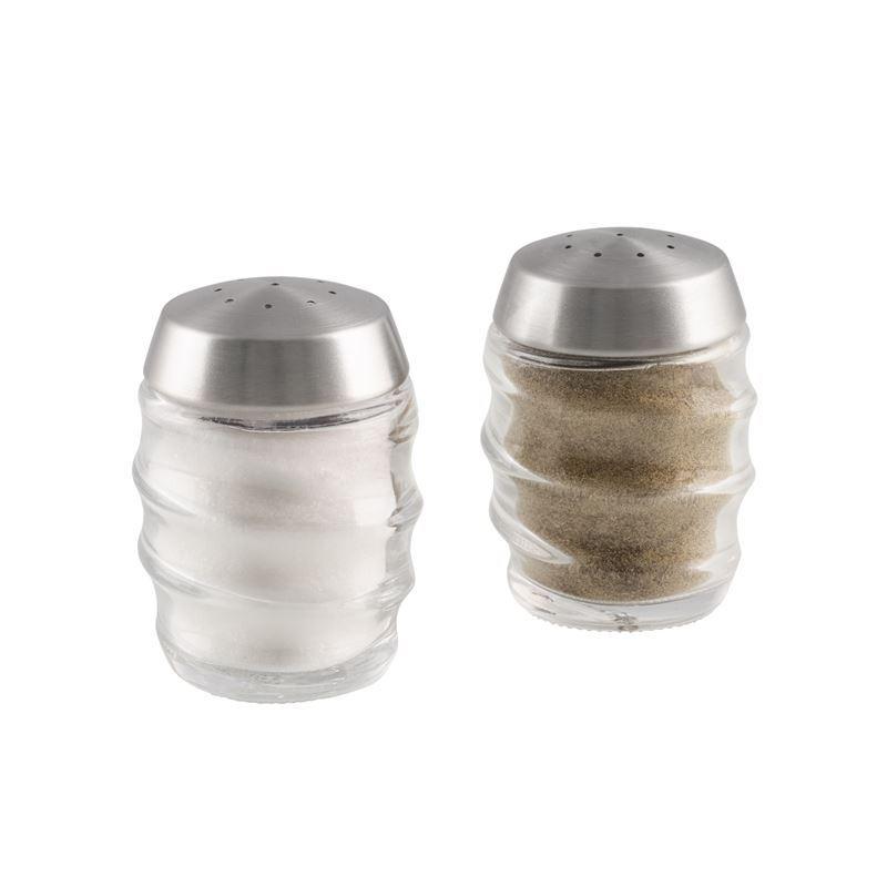 Cole & Mason – Bray Glass Salt & Pepper Shaker Grinder Set 7cm