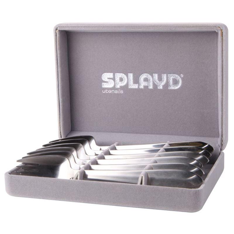 Splayd – Luxury Stainless Steel Mini Satin Finish Set of 6