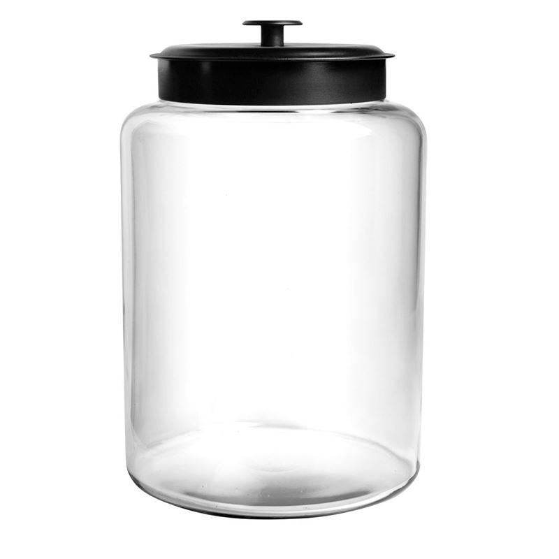 Anchor Hocking – Montana Jar with Black Lid 34×21.5cm 9.5Ltr