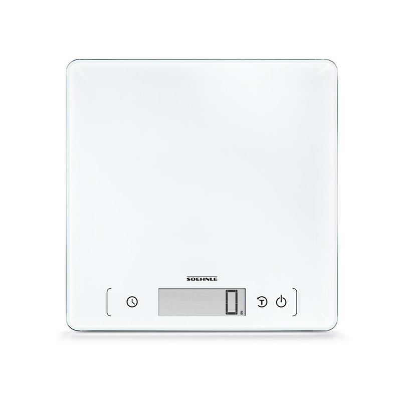 Soehnle – Page Comfort 400 Digital 10kg Kitchen Scale White