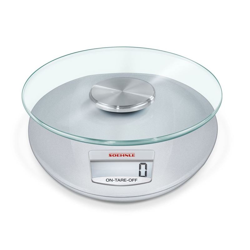 Soehnle – Roma Silver Digital 5kg Kitchen Scale White