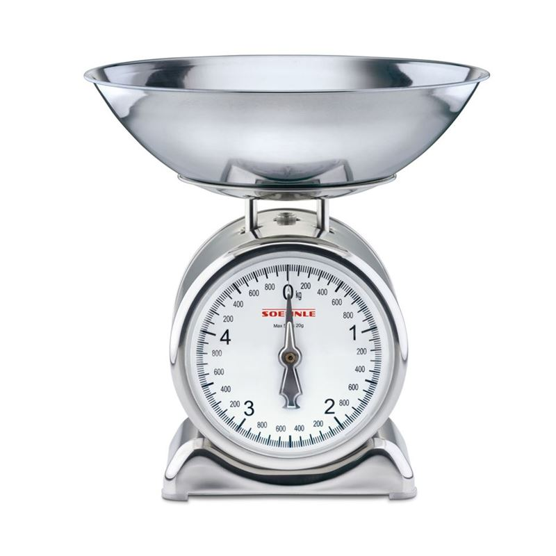 Soehnle – Silvia Mechanical 5Kg Capacity Kitchen Scale
