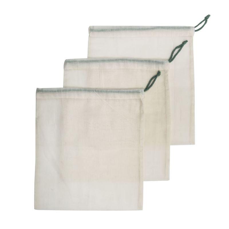 Stephanie Alexander – Cotton Produce Bag Medium 28x31cm Set of 3