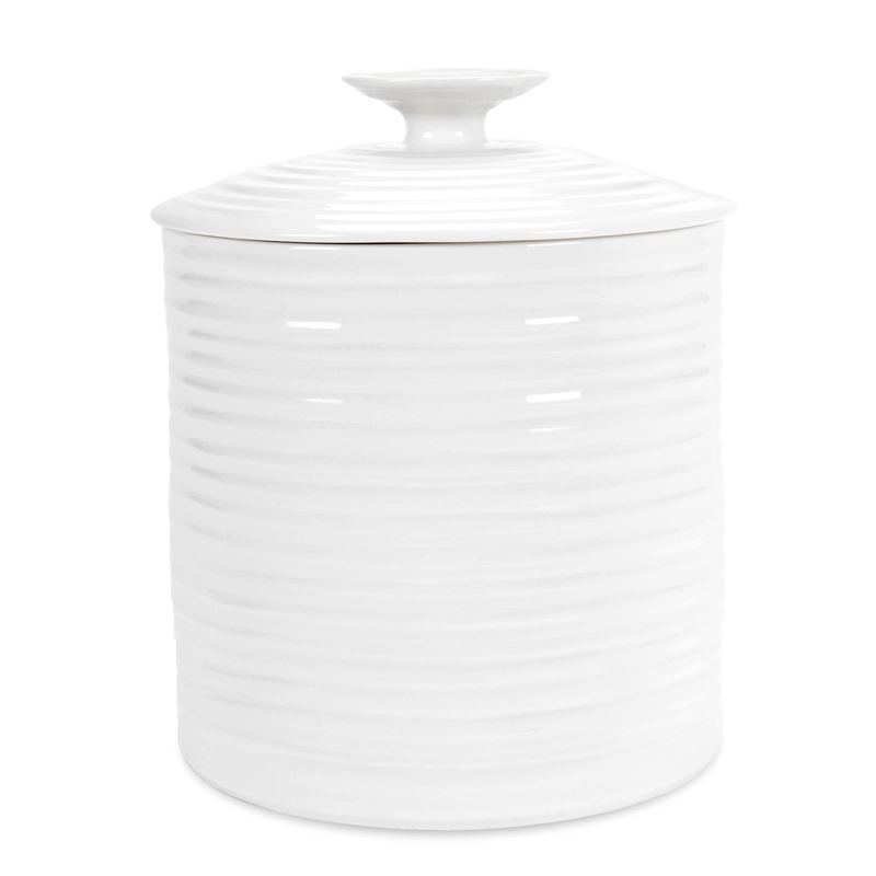 Sophie Conran for Portmeirion – Ice White Large Storage Jar 16×16.5cm