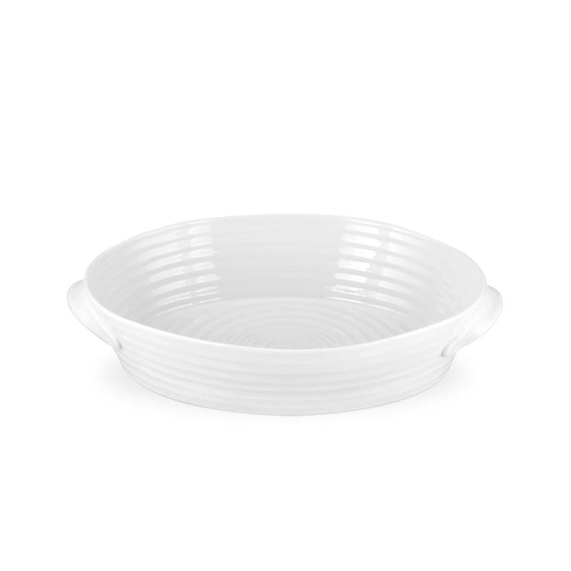 Sophie Conran for Portmeirion – Ice White Small Oval Roasting Dish 24x16x4.5cm