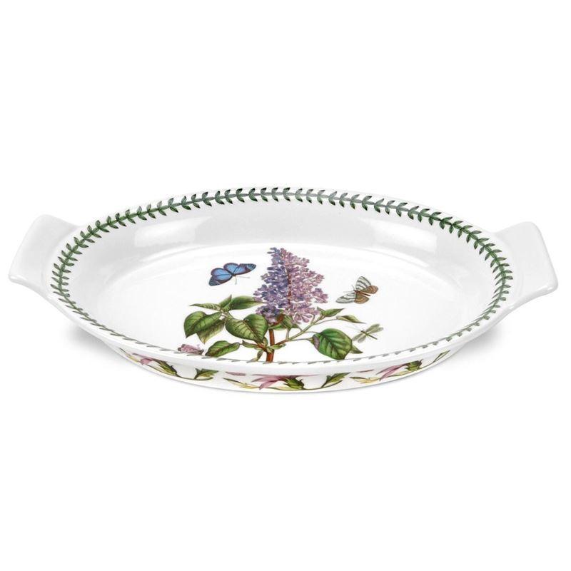 Portmeirion Botanic Garden – Oval Gratin Dish 31.7x20cm
