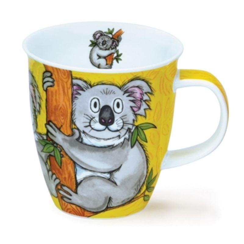 Dunoon – Nevis Bone China Mug 480ml Swingers Koala (Made in England)