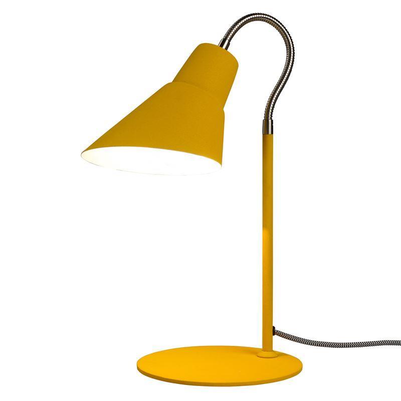 Wild & Wolf – Gooseneck Lamp English Mustard 39cm