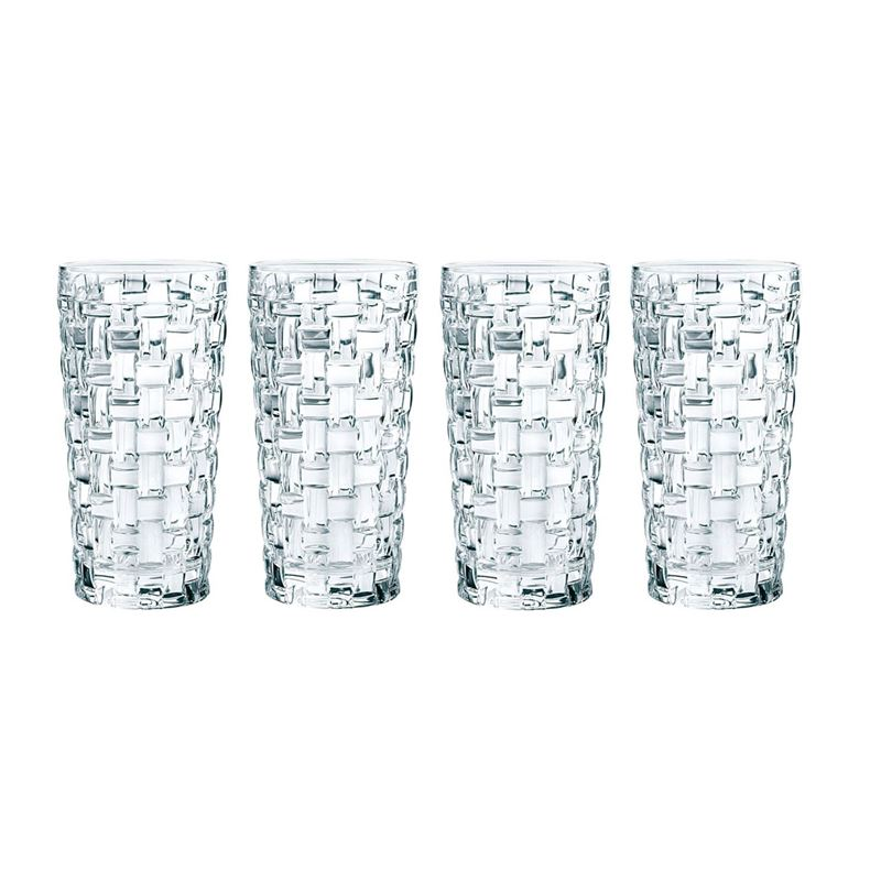 Nachtmann Crystal – Bossa Nova Long Drink 395ml Set of 4 (Made in Germany)