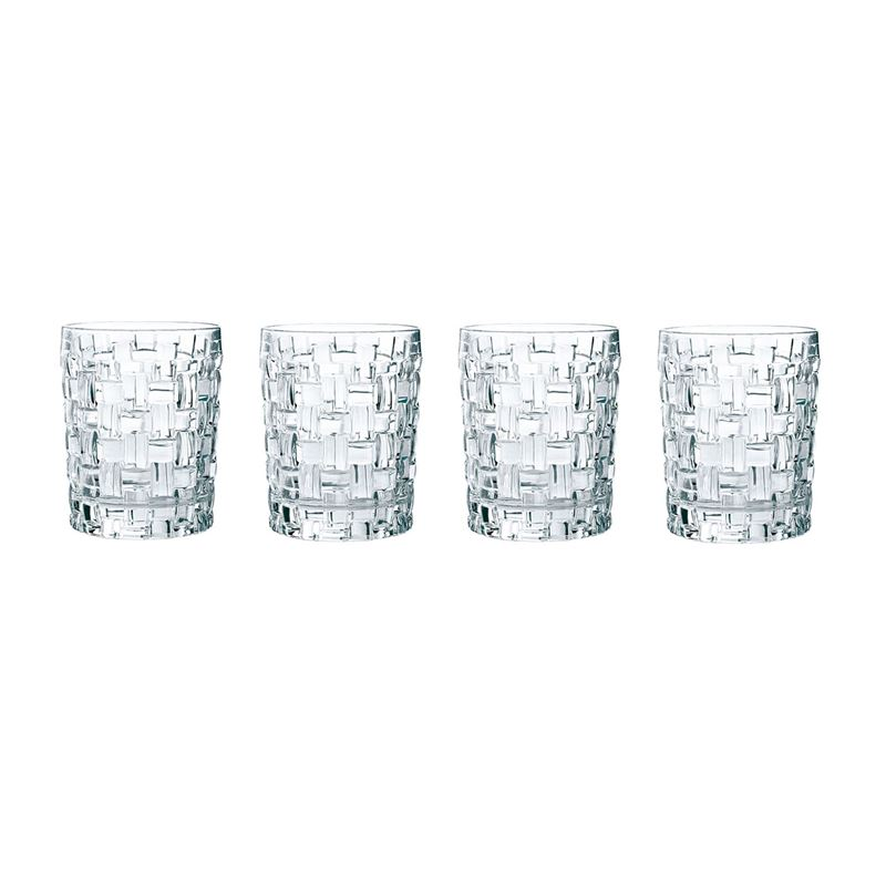 Nachtmann Crystal – Bossa Nova Whiskey 330ml Set of 4 (Made in Germany)