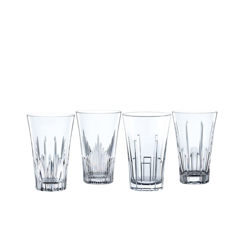 Nachtmann Crystal – Classix Long Drink 405ml Set of 4 (Made in Germany)