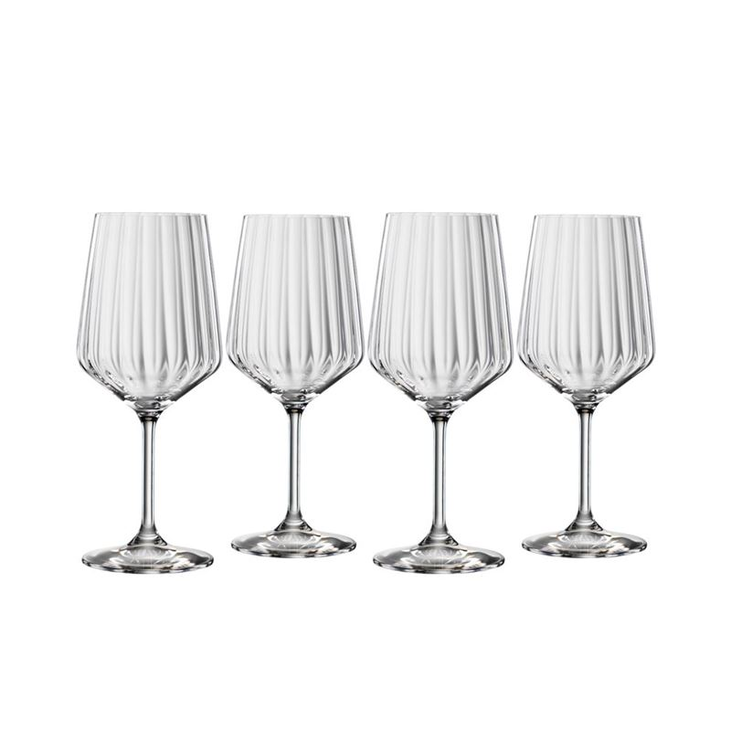 Spiegelau – Lifestyle Red Wine 630ml Set of 4 (Made in Germany)