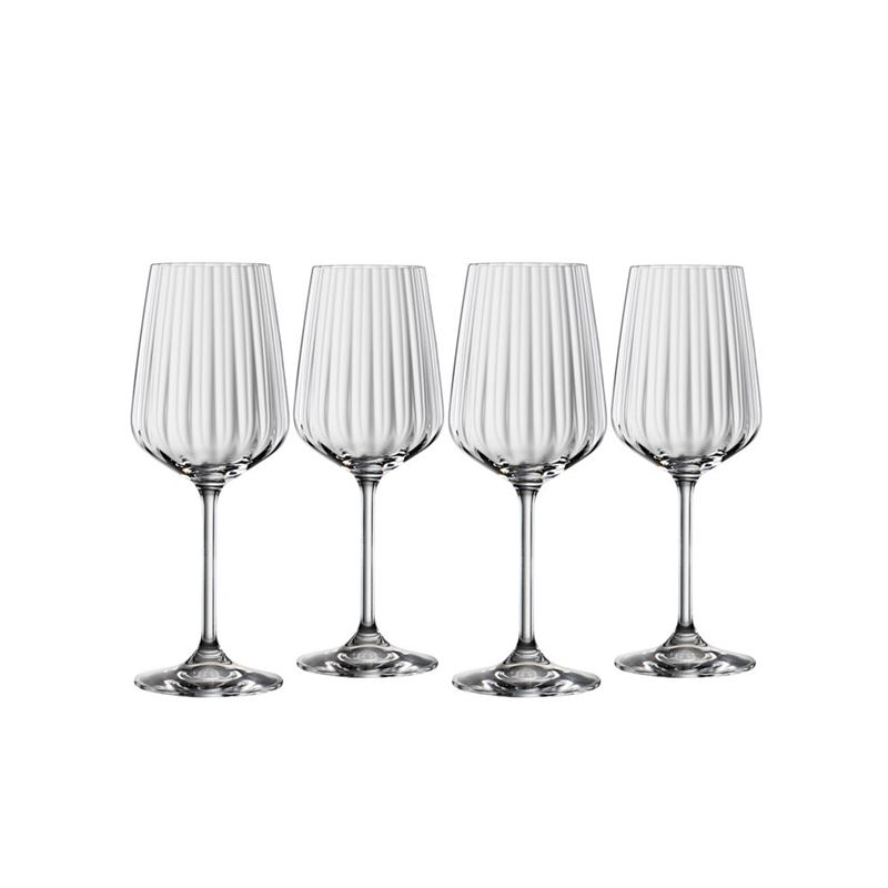 Spiegelau – Lifestyle White Wine 440ml Set of 4(Made in Germany)