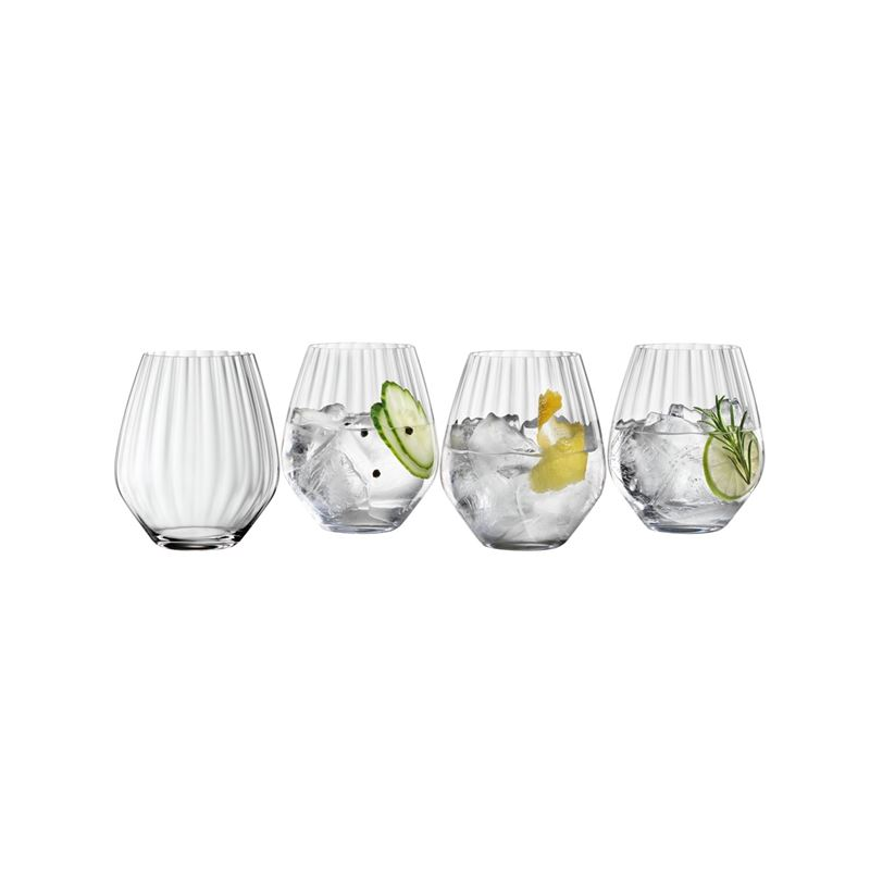 Spiegelau – Specialty Gin & Tonic Tumbler 625ml set 4 (Made in Germany)