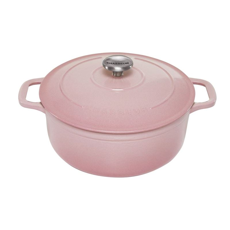 Chasseur Cast Iron – Cherry BlossomRound Casserole 26cm 5Ltr (Made in France)