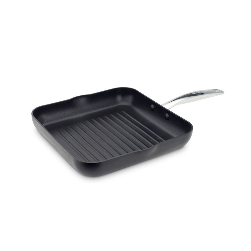 KitchenAid – Premium Non-Stick Induction Square Grill Pan 26cm