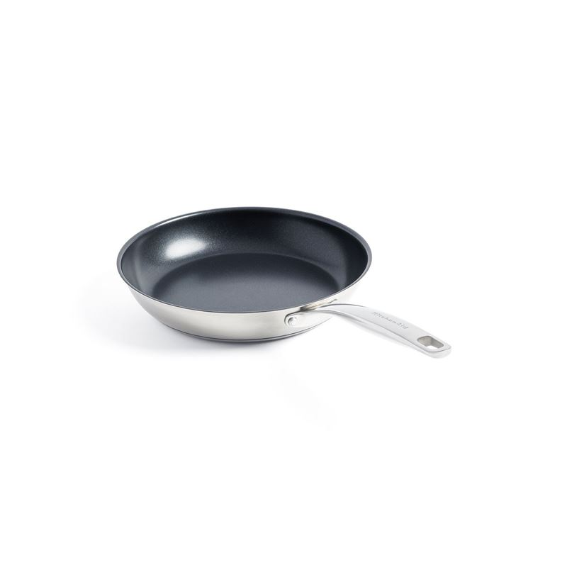 KitchenAid – Professional Stainless Steel Non-Stick Induction Frypan 24cm