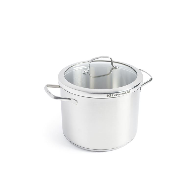 KitchenAid – Professional Stainless Steel Induction 24cm Stock Pot 8Ltr