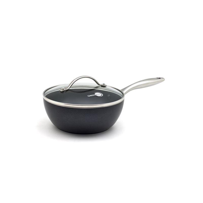 Greenpan – Heritage Thermolon Ceramic Non-Stick Covered Chef's Pan 20cm 2Ltr
