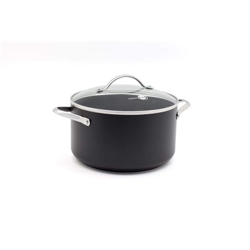 Greenpan – Heritage Covered 22cm Casserole 4.5Ltr