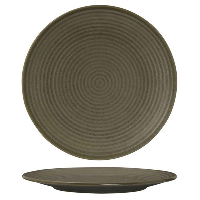 Zuma – Commerical Grade Cargo Dinner Ribbed Plate 26.5cm