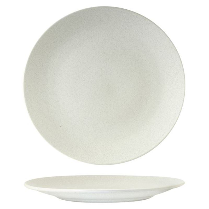 Zuma – Commercial Grade Matt White Entree Plate 23cm