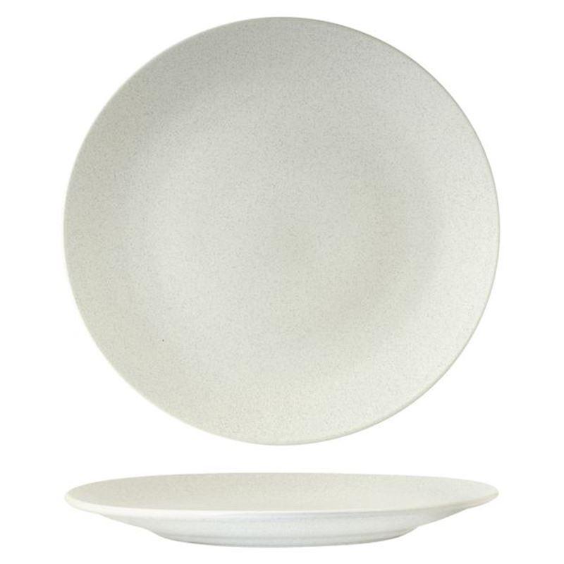 Zuma – Commercial Grade Matt White Dinner Plate 26cm