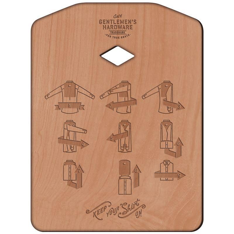 Gentleman's Hardware – Shirt Folding Board