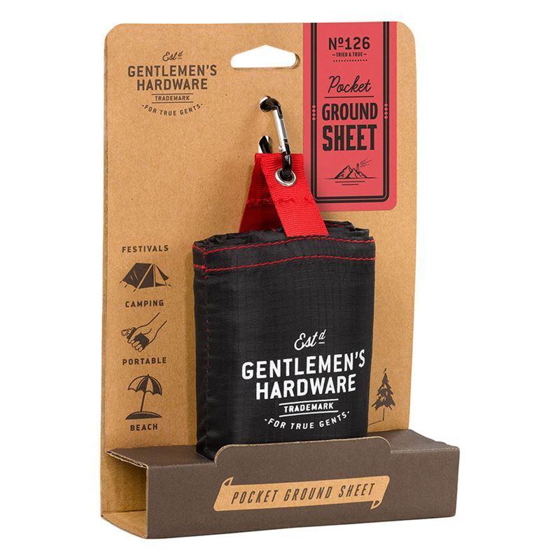 Gentleman's Hardware – Pocket Ground Sheet
