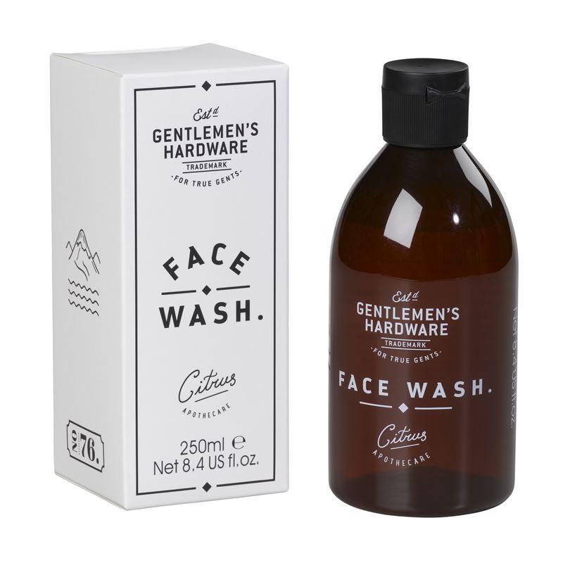 Gentleman's Hardware – Face Wash 250ml