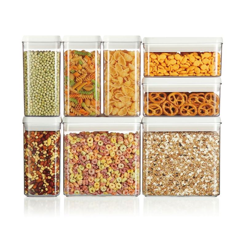 Benzer – Airtite 8pc Square and Rectangular Container Set