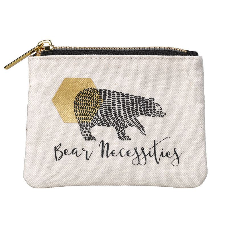 Folklore – Small Zippered Pouch Bear Necessities